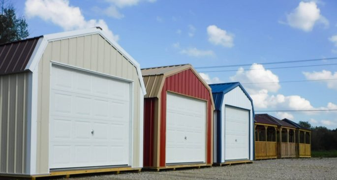 Shed Lot of Portable Buildings In Warsaw OH.
