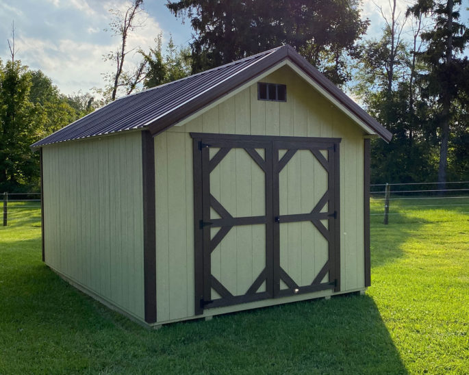 Shed for sale near Zanesville OH.